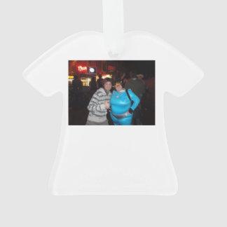 Ornamento de la camiseta del navidad de