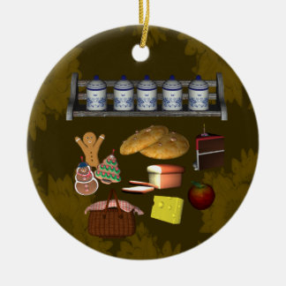 Ornamento de la cocina de la comida de las invitac ornato