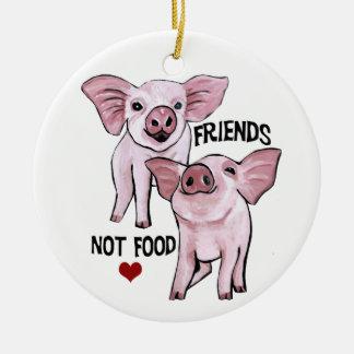 Ornamento de la comida de los amigos no