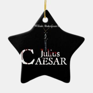 Ornamento de la estrella de Julio César Adorno Navideño De Cerámica En Forma De Estrella