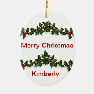 Ornamento de la guirnalda ornamento para arbol de navidad