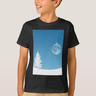 Ornamento de la luna camiseta