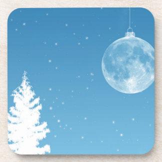 Ornamento de la luna posavaso