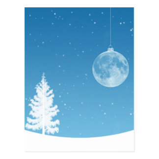 Ornamento de la luna postal