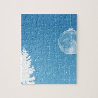 Ornamento de la luna puzzle