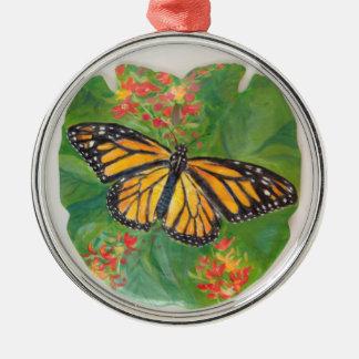 Ornamento de la mariposa de monarca