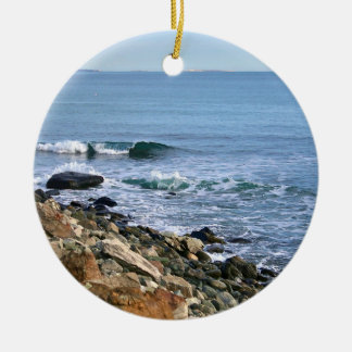 Ornamento de la ola oceánica