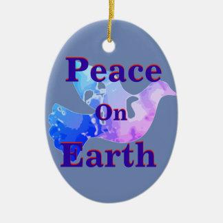 Ornamento de la paloma de la paz