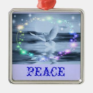 Ornamento de la paloma de la paz ornatos