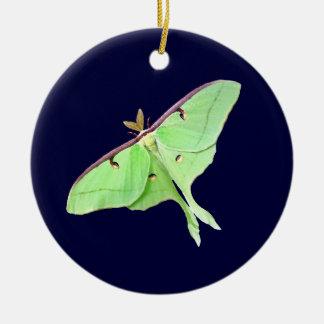 Ornamento de la polilla de Luna Ornamentos De Navidad