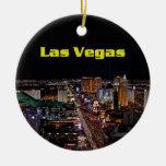 Ornamento de la tira de Las Vegas de las Felices N Ornato