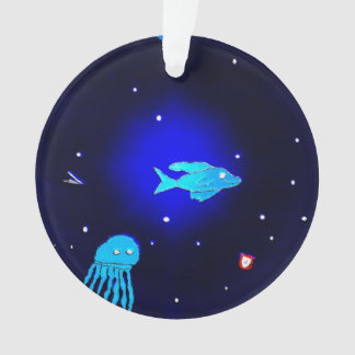 Ornamento de la vida marina