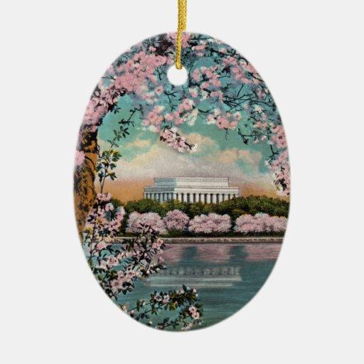 Ornamento de las flores de cerezo adorno de reyes