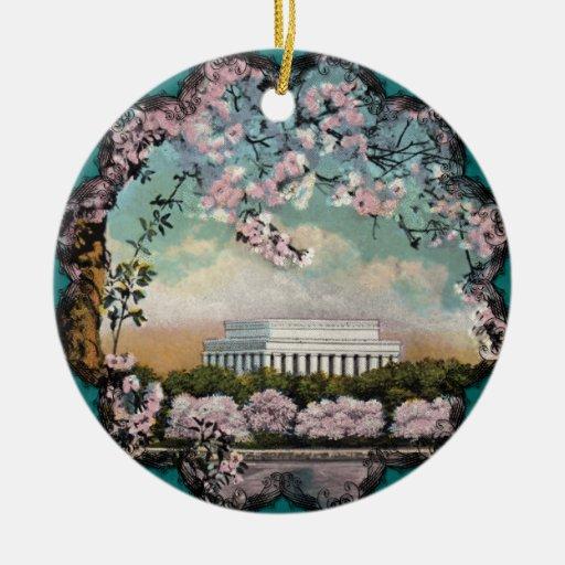 Ornamento de las flores de cerezo ornamento para reyes magos