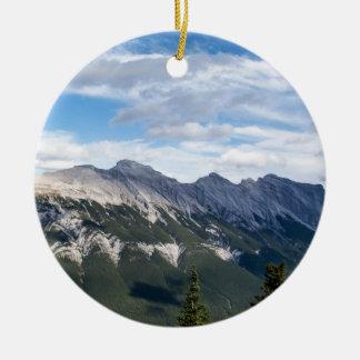 Ornamento de las montañas rocosas