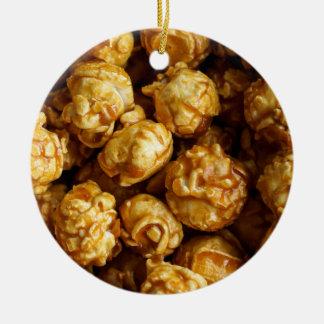 Ornamento de las palomitas del caramelo