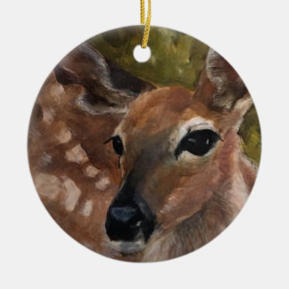 Ornamento de los ciervos del cervatillo