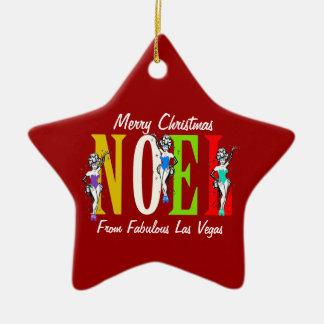 Ornamento de los coristas del navidad de NOEL Las Ornamente De Reyes