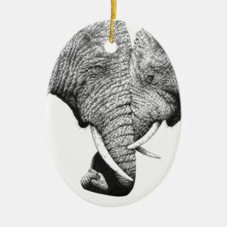 Ornamento de los elefantes africanos adornos