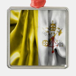 Ornamento de metal del cuadrado de la bandera de