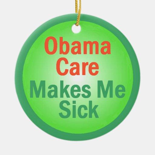 Ornamento de ObamaCare Adorno De Navidad