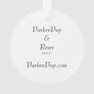 Ornamento de ParkerPup 2014-15 y de Reser