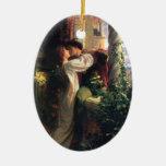 Ornamento de sir Frank Dicksee, de Romeo y de Juli Ornamentos Para Reyes Magos