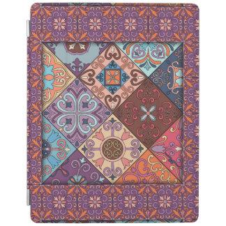 Ornamento de Talavera del mosaico del vintage Cubierta De iPad