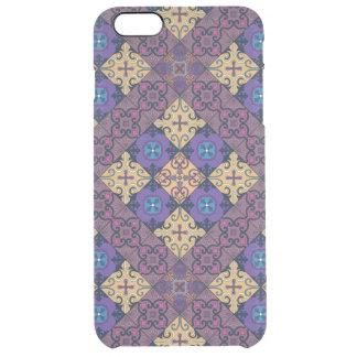 Ornamento de Talavera del mosaico del vintage Funda Transparente Para iPhone 6 Plus