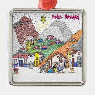 Ornamento de Venezuela del navidad - Feliz Navidad Ornaments Para Arbol De Navidad