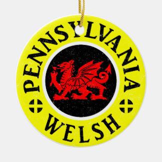 Ornamento del americano de Pennsylvania Galés