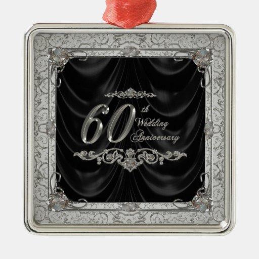 Ornamento del aniversario de boda de diamante ornamento de reyes magos