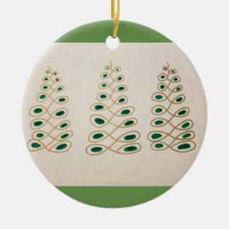 Ornamento del árbol de Chistmas - Pinecones tonto