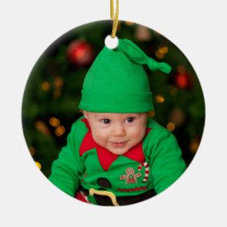 Ornamento del árbol de navidad - bebé