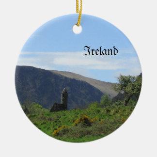 Ornamento del árbol de navidad de Irlanda