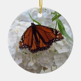Ornamento del árbol de navidad de la mariposa