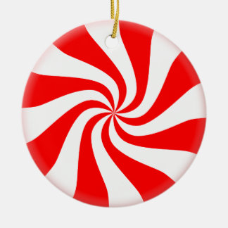 Ornamento del árbol de navidad del caramelo de
