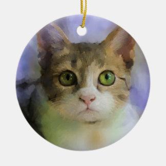 Ornamento del arte del gato