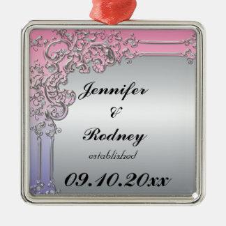 Ornamento del boda de novia y del novio adornos