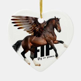 Ornamento del caballo de Chirstmas