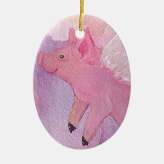 Ornamento del cerdo del vuelo
