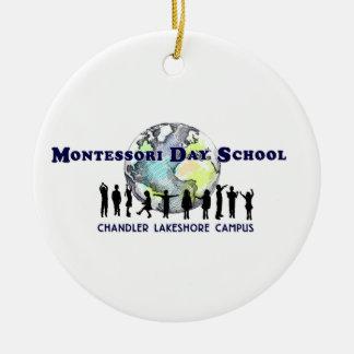 Ornamento del cerero del externado de Montessori a