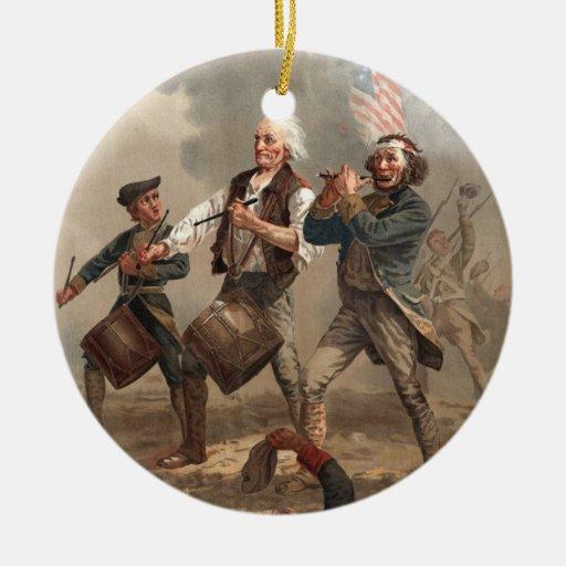 Ornamento del chulo del Doodle del yanqui Ornamento Para Arbol De Navidad