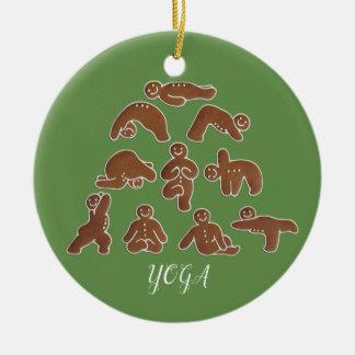 Ornamento del círculo de la yoga del pan de