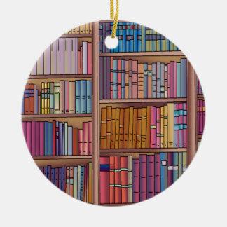 Ornamento del círculo del gusano de libro adorno