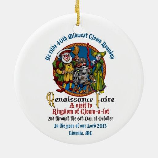 Ornamento del círculo del MCA 40.o Adorno De Reyes