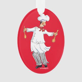 Ornamento del cocinero