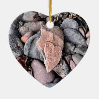 Ornamento del corazón del favor del boda