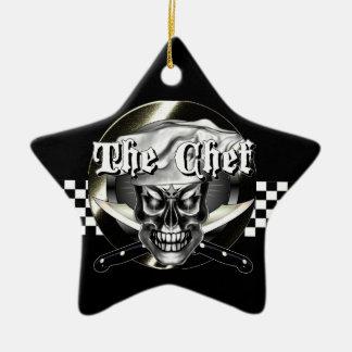 Ornamento del cráneo del cocinero
