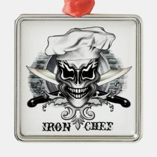 Ornamento del cráneo del cocinero: Cocinero del Ornato